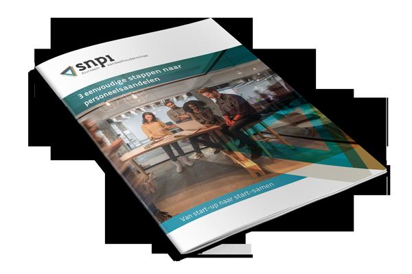 personeelsaandelen brochure van SNPI